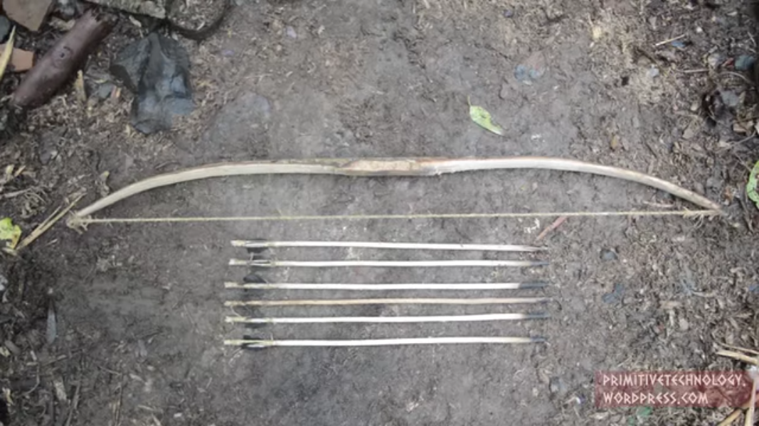 Video:  Make a Bow and Arrow from Scratch