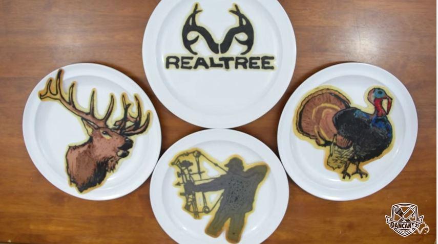 Pancake Artist Designs The Breakfast of Hunters