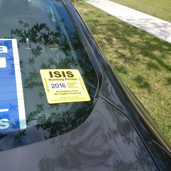 San Bernardino Congressional Candidate Offers Up ISIS Hunting Permits