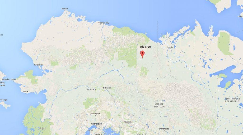 old-crow-yukon-on-map-of-alaska-and-yukon
