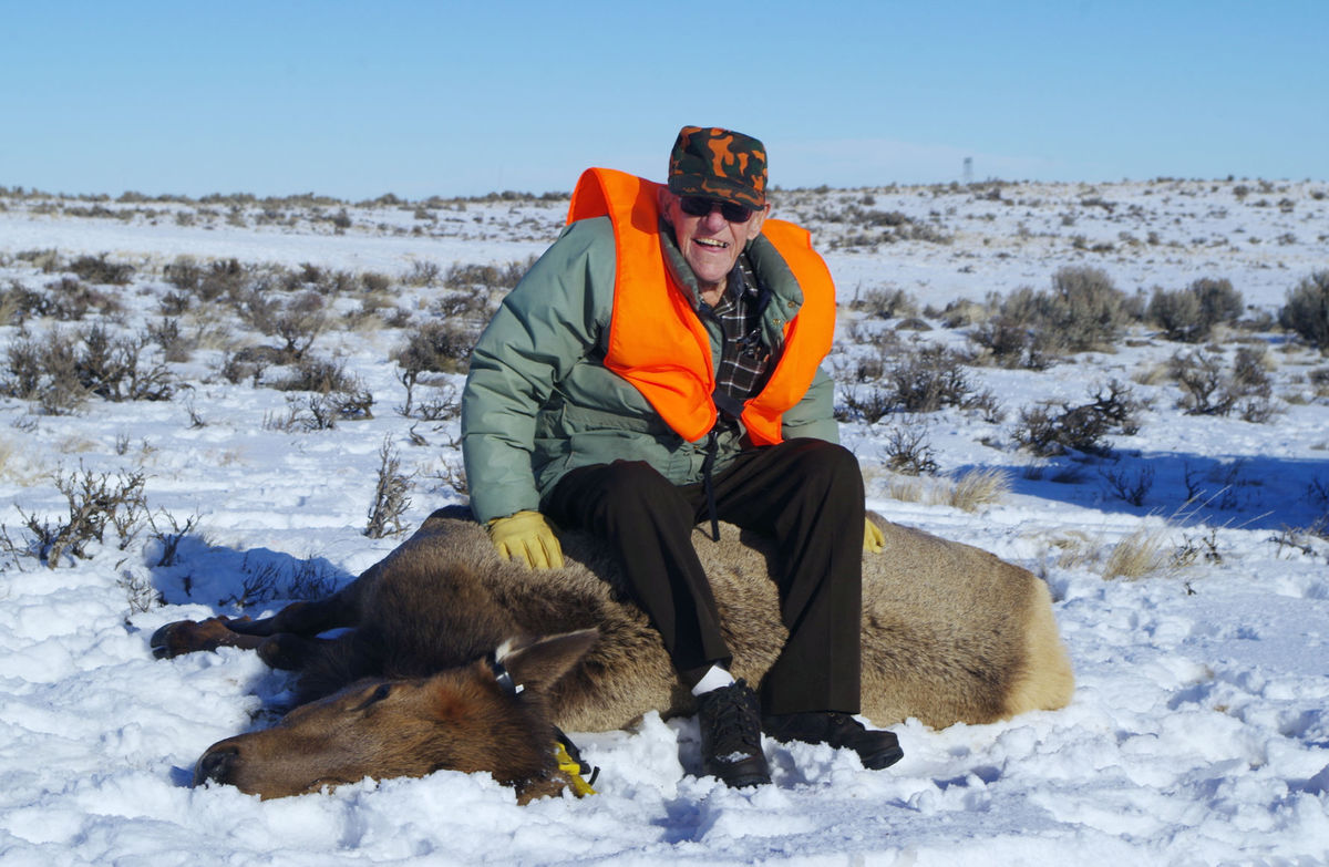 100 Year-Old Hunter Bags Elk