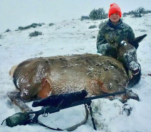 13-Year-Old Wyoming Hunter Connects on First Elk After Winning Competition