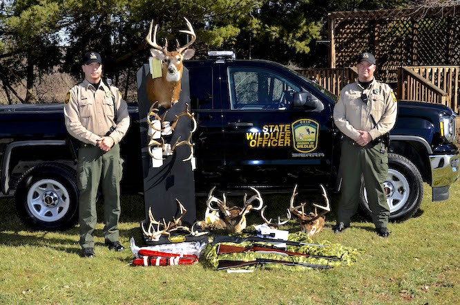 Ohio DNR's 'Operation North Coast' Results in 55 Charges, Jail Time for Poachers