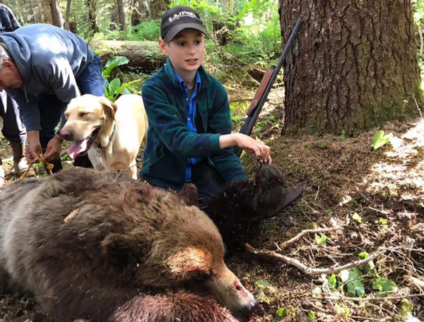 The 11-Year-Old Who Saved His Family from An Attacking Grizzly Bear