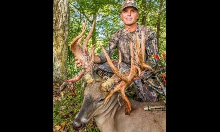 Louisiana Dentist Arrows Potential Record Whitetail